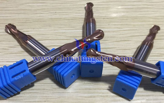 Tungsten Solid Carbide Taper Ball End Mills Picture