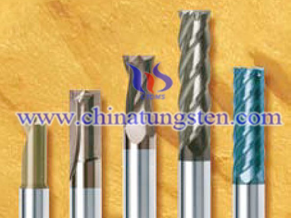 tungsten solid carbide end mills